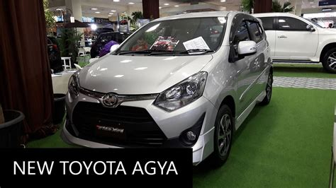 toyota new agya 1 2 trd at new 2017 toyota agya 1 2 trd s exterior and interior