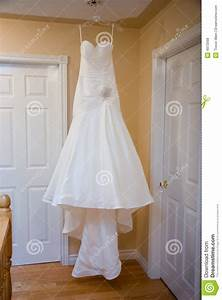 hanging wedding dress royalty free stock photos image With hanging wedding dress