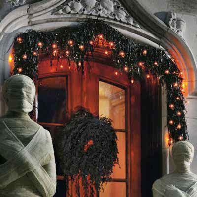 dead wreath  garland spooky halloween home decor