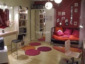 Chambre De Fille Ikea : chambre adolescent mon univers deco ~ Premium-room.com Idées de Décoration