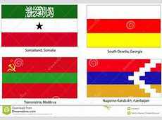 Unrecognized states flags stock illustration Image of