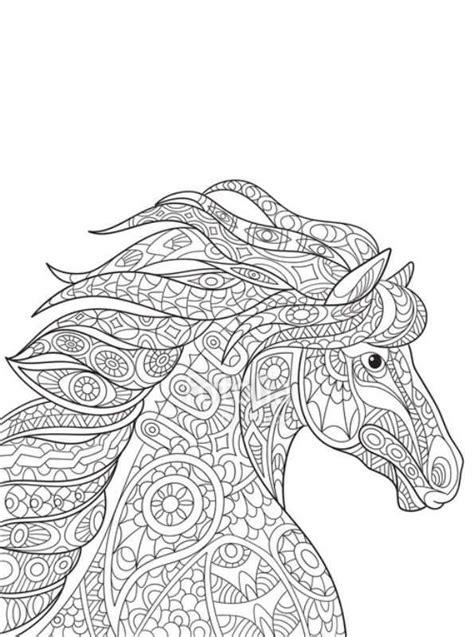 Ben je op zoek naar een kleurplaat voor je kind? Mandala Paarden Kleurplaat Voor Volwassenen