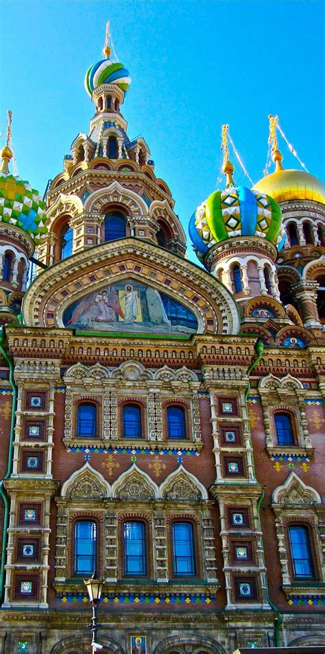 The Church Of The Savior On Spilled Bloodstpetersburg