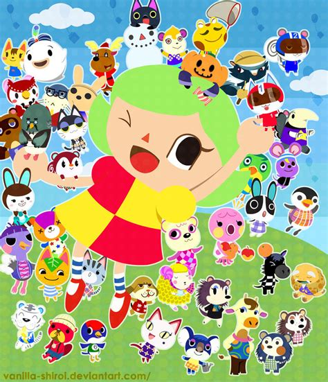 Where Do You Buy Wallpaper In Animal Crossing New Leaf - animal crossing by vanilla shiroi on deviantart