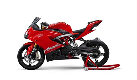 Tvs Apache Rr 310 Picture by Tvs Apache Rr 310 Launched In India Priced At Rs 2 05 Lakh