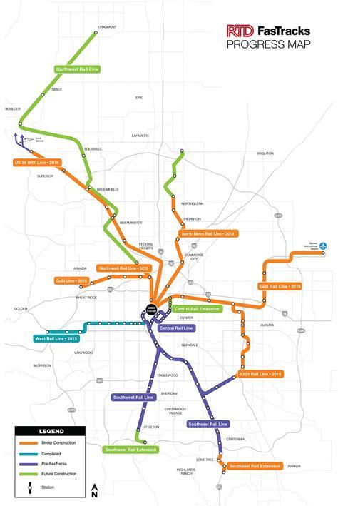 light rail map denver 2016 light rail lines finalized for denver metro