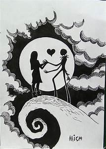 Drawings of Jack Skellington sewing | Ideas | Pinterest ...