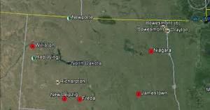 The Latest Worldwide Meteor/Meteorite News: North Dakota ...