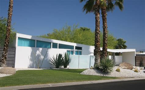 mid century modern houses  palm springs  house