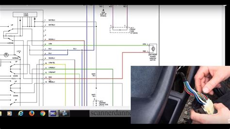 how to test a power window switch motor 1985 2001 toyota