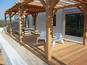 Modele De Terrasse : modele de pergola en bois ~ Preciouscoupons.com Idées de Décoration