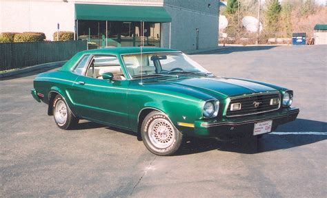 77 Mustang For Sale by Emerald Green 1977 Ford Mustang Ii Coupe