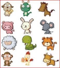 Chinese New Year Zodiac Animals for Kids
