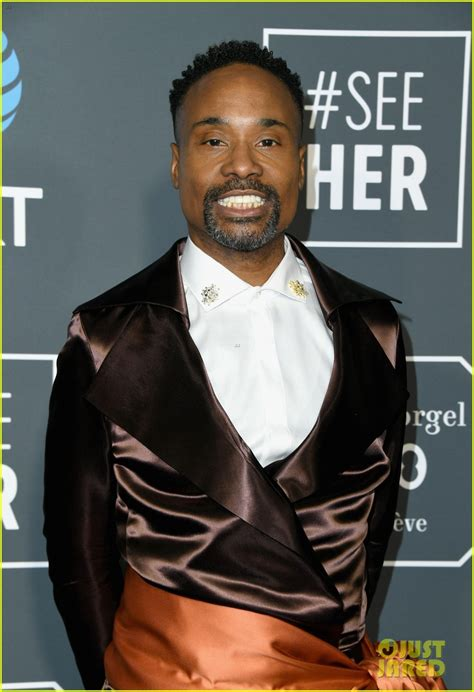 Billy Porter Pose Stars Attend The Critics Choice