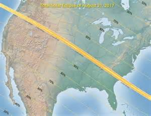 August 21 2017 Solar Eclipse Map
