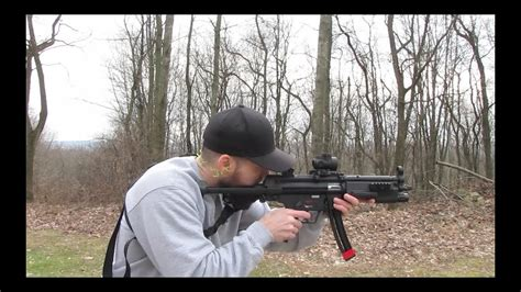 walther hk mp  lr sbr  action youtube