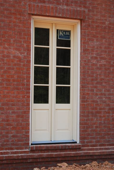 narrow exterior doors narrow doors actually sidelights mulled together
