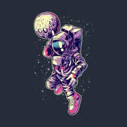 Awesome 'Astronaut+Dunk' design on TeePublic! | Characters ...