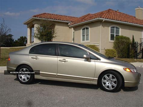 2008 Honda Civic Lx Sedan 4