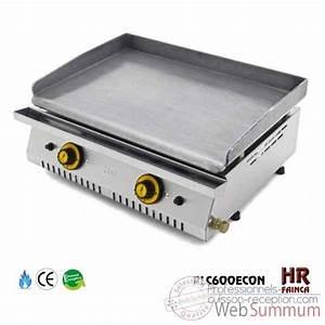 Plancha Gaz En Inox : planche barbecue gaz 2 feux roller grill de roller grill ~ Premium-room.com Idées de Décoration