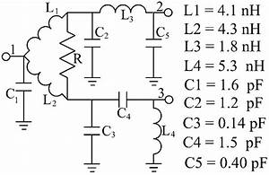 Schematic Of The Lumped Quadrature Power Splitter  Lqps