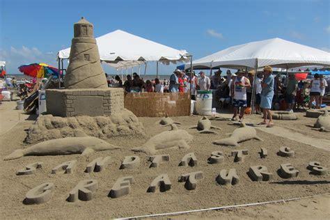 Sand Castle Contest Galveston Texas