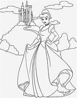 Cinderella Coloring Pages Printable Disney Princess Filminspector sketch template