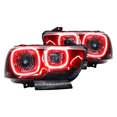 oracle halo lights oracle lighting 174 dodge charger 2013 black factory style