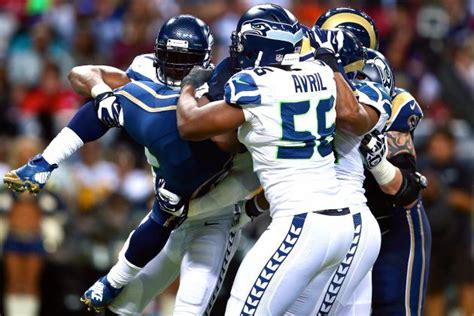 seahawks  rams score grades  analysis bleacher