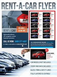 Free Cover Letter For Resume Rent A Car Flyer Graphicriver Rent A Car Flyer Any
