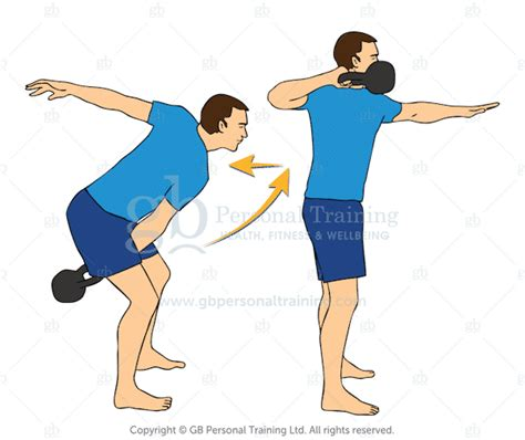 kettlebell pull pulls exercise advanced exercises swing workout beginner body heart master very