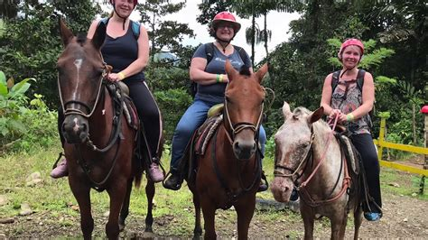 costa riding rica horseback