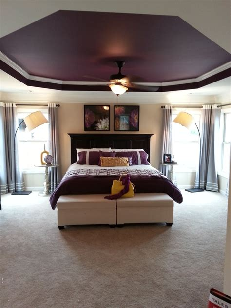 Master Bedroom Decorating Ideas Purple by Best 25 Purple Master Bedroom Ideas On Purple
