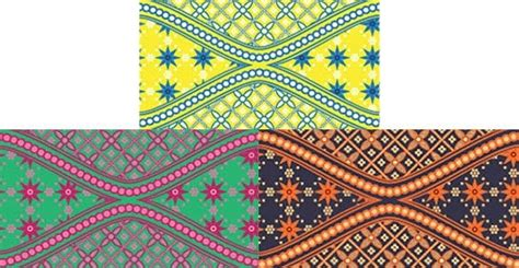 desain undangan batik  vector    vector