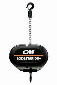 Lodestar U00ae D8  Electric Chain Hoist