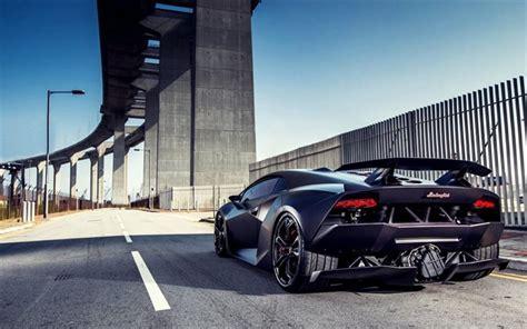 Download Wallpapers Lamborghini Sesto Elemento, Supercars