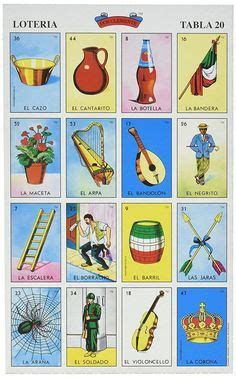 tablas de loteria mexicana para imprimir teaching ideas free printables craft