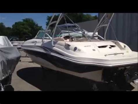 Deck Boats For Sale Nc by 2002 Sea 220 Sundeck W Tower Used Deck Boat For Sale