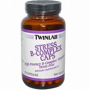 Twinlab Stress B-complex - 100 Caps