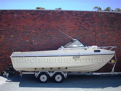 Voyager Boats For Sale Perth by Voyager Marquis 23ft Hi Tech Marine