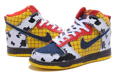 Cartoon Nike Shoes High Tops