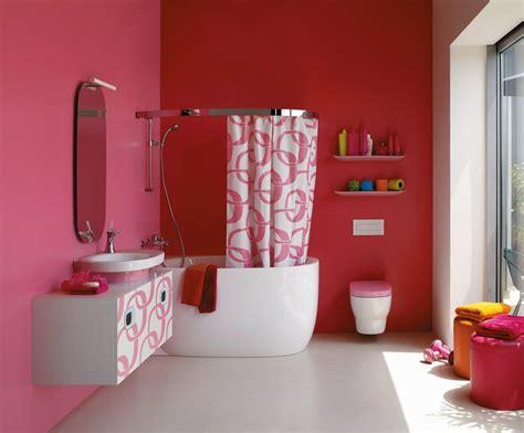 Bathrooms: Pretty in Pink Again Bathroom color schemes