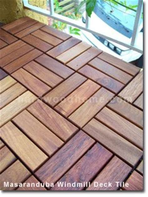 25 best ideas about wood deck tiles on diy
