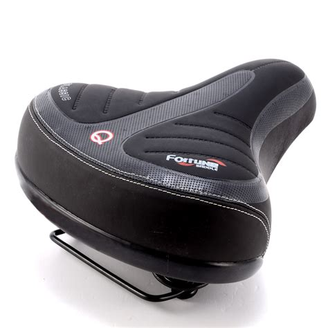 comfortable bicycle seats wide big bum bike bicycle gel cruiser comfort sporty