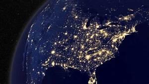 Earth at Night Wallpaper - WallpaperSafari