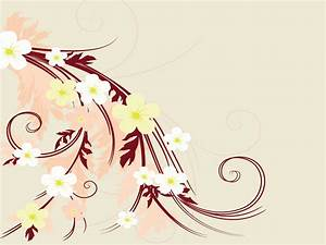 Flower Artistic Drawings with Hair Powerpoint Templates ...