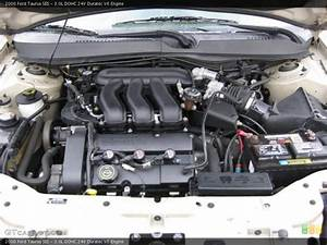3 0l Dohc 24v Duratec V6 Engine For The 2000 Ford Taurus