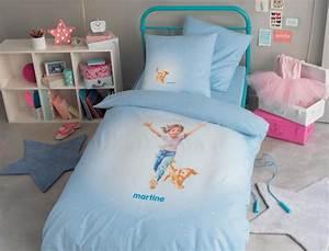 Parure Lit Enfant : linge de lit enfant parure de lit enfant linvosges ~ Teatrodelosmanantiales.com Idées de Décoration