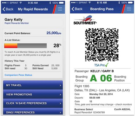 how to get boarding pass on phone southwest airlines app now supports mobile boarding passes