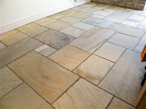 Indian Stone Floor In Sutton, Macclesfield, Cheshire